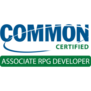 COMMON Certification: Associate Application Developer RPG